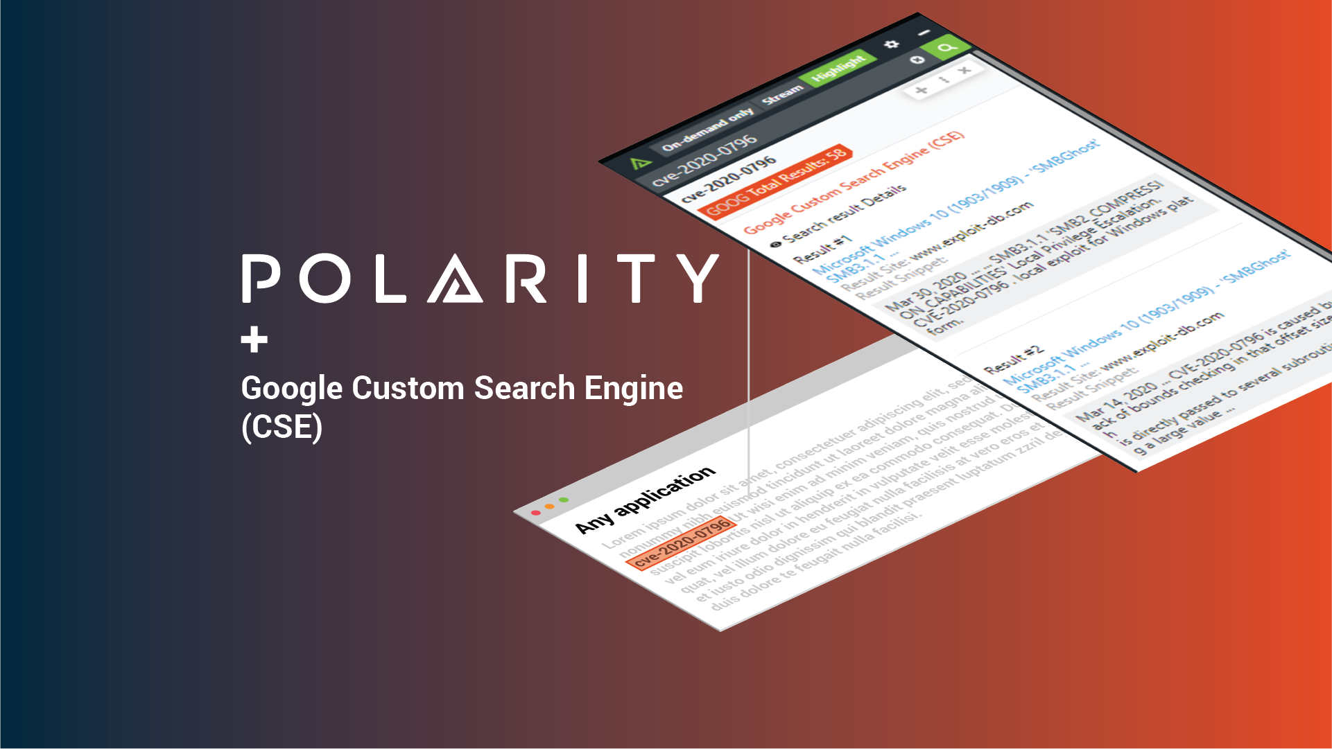 Search for anything with the Polarity - Google Custom Search Integration Part 2 cover image