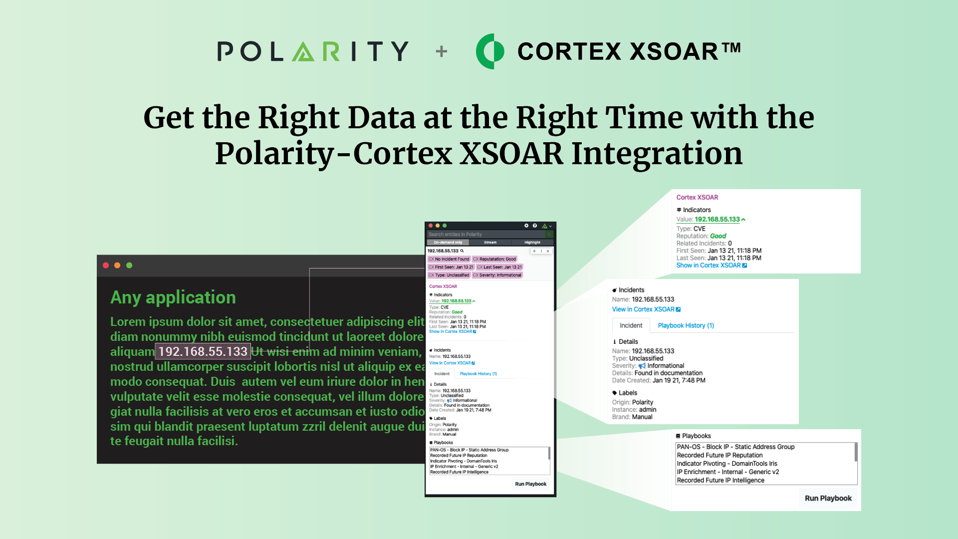 Get the Right Data at the Right Time with the Polarity-Cortex XSOAR Integration cover image