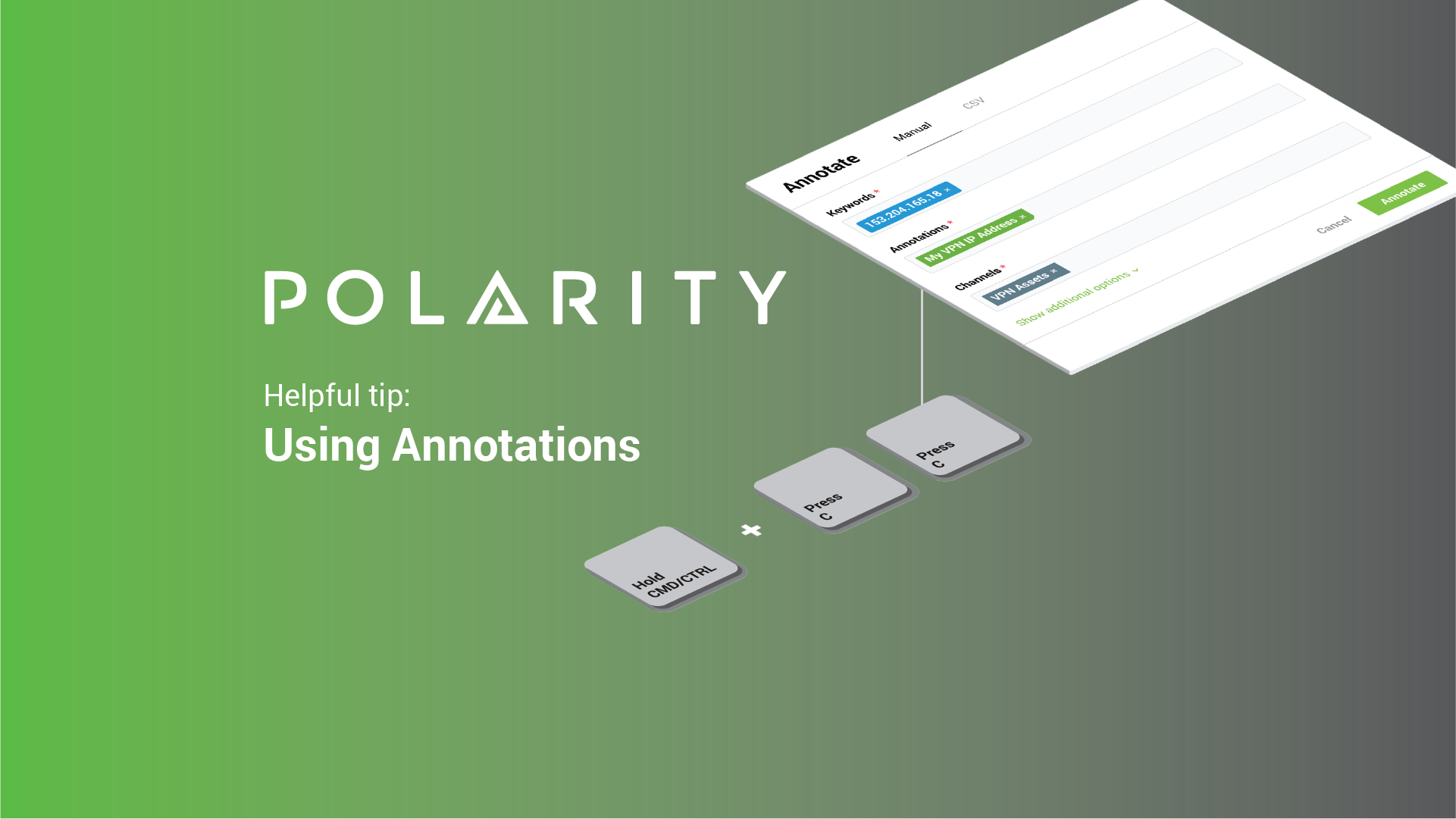 Polarity User Tips: Using Annotations in Polarity cover image