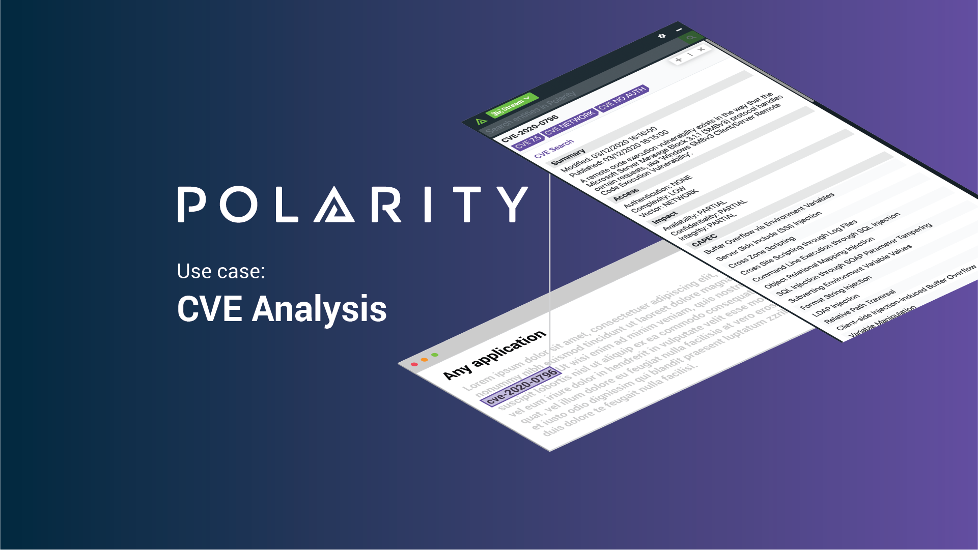 Polarity Use Case: CVE Analysis cover image