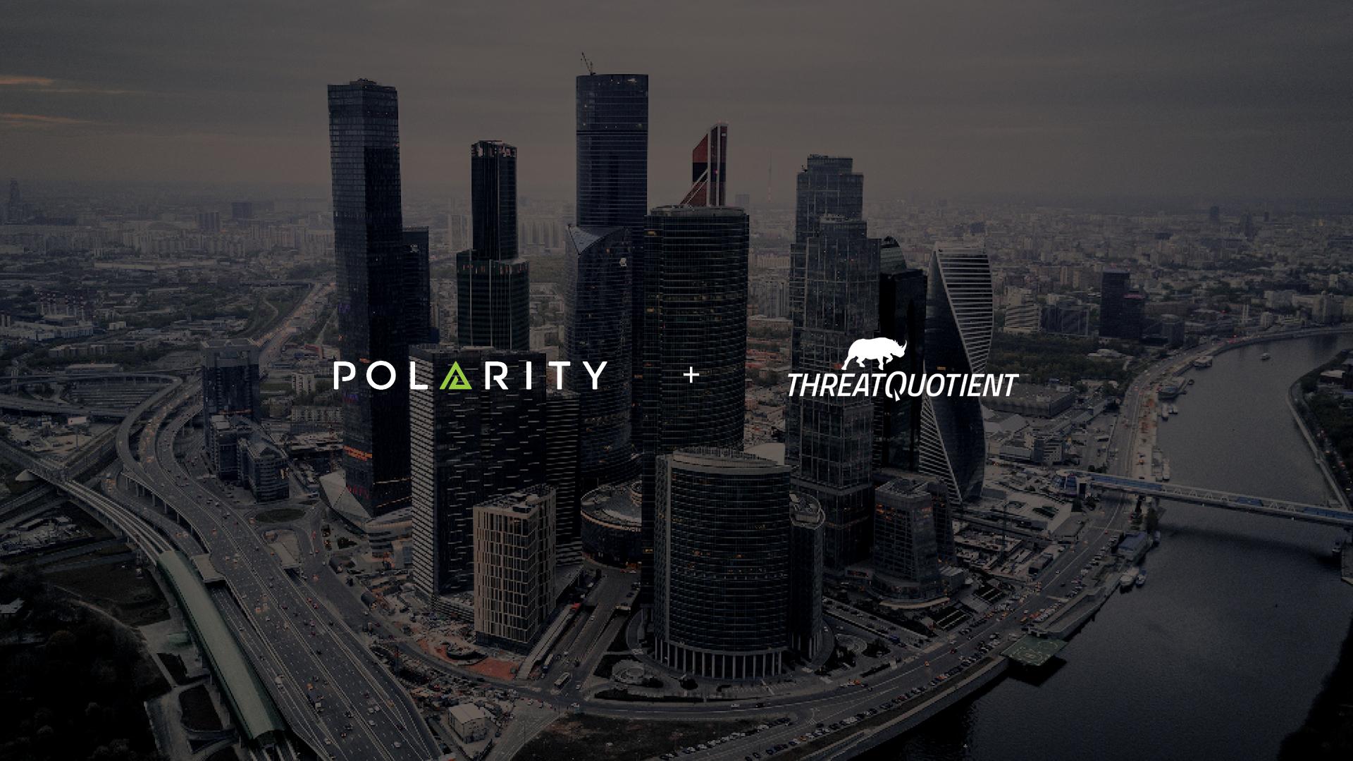 Polarity - ThreatQuotient Integration cover image