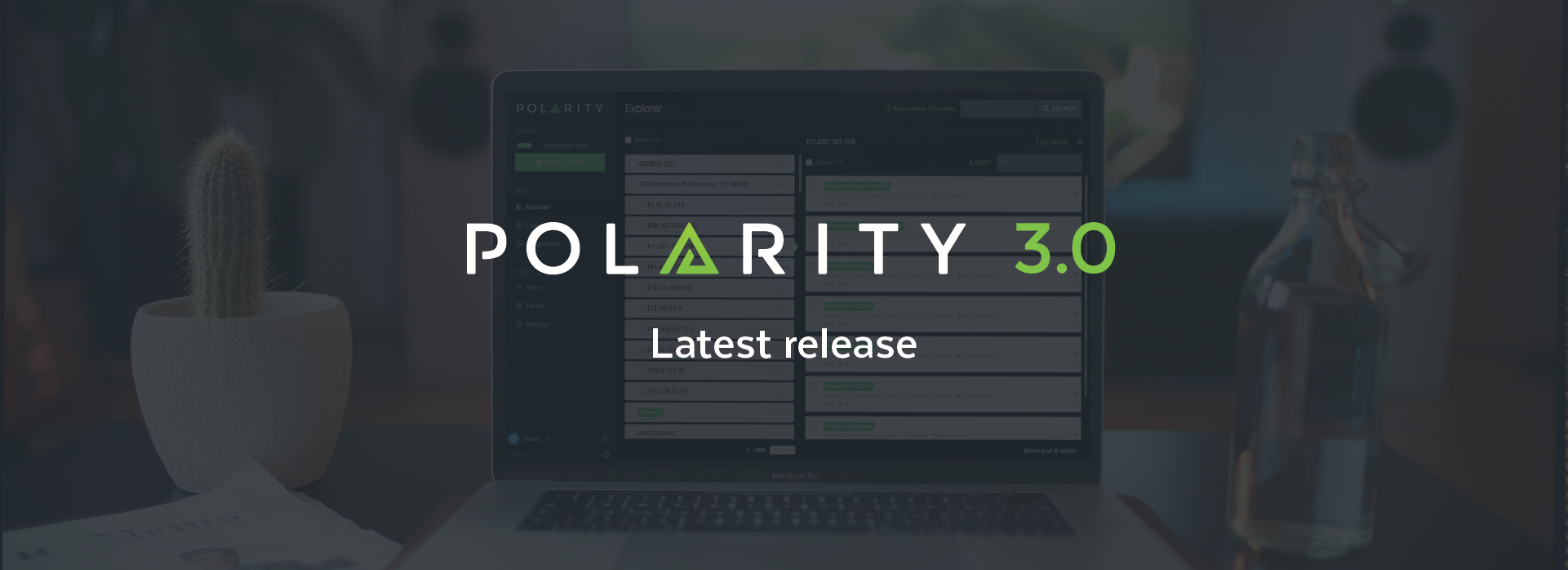 Our Latest Release - Polarity 3.0 cover image