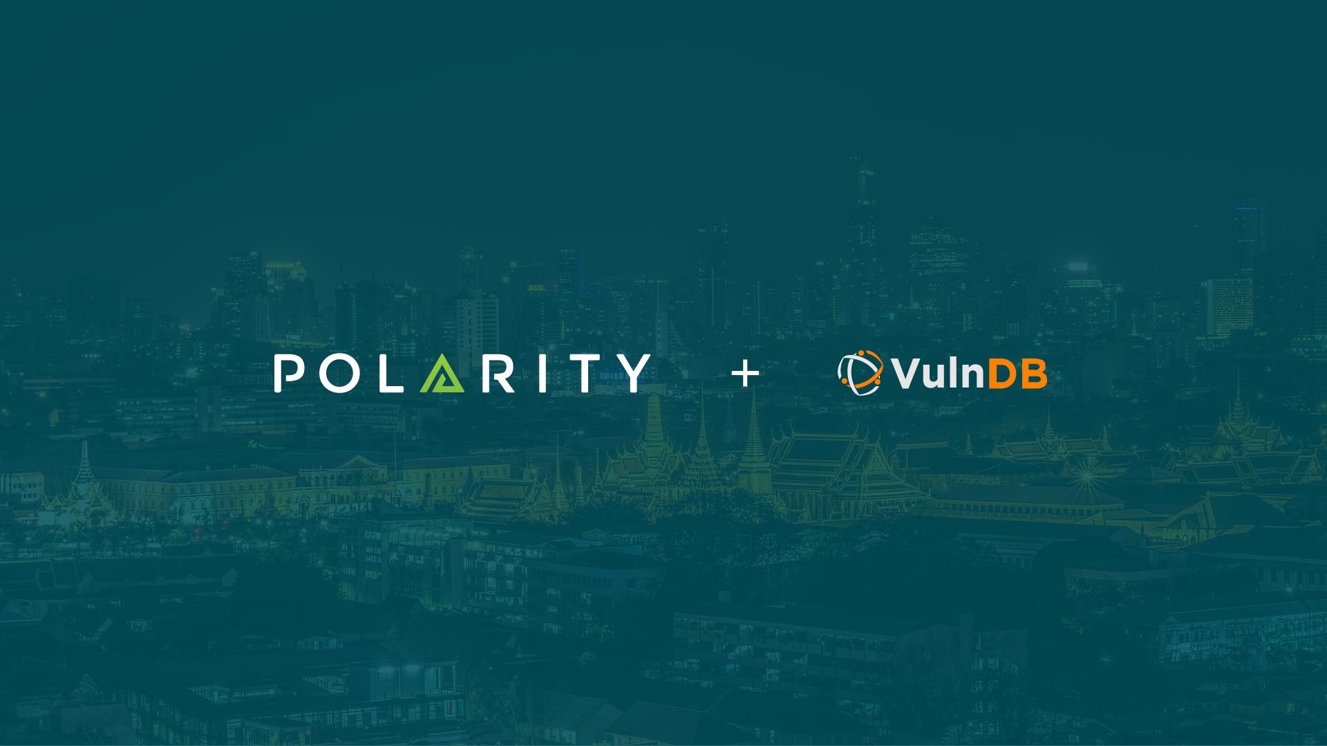 Polarity - VulnDB Integration cover image