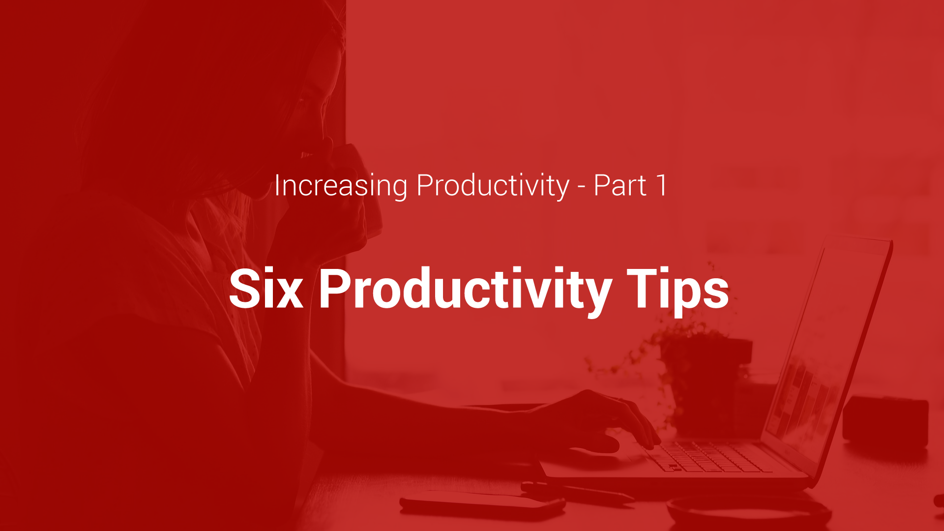 Productivity: Part I cover image