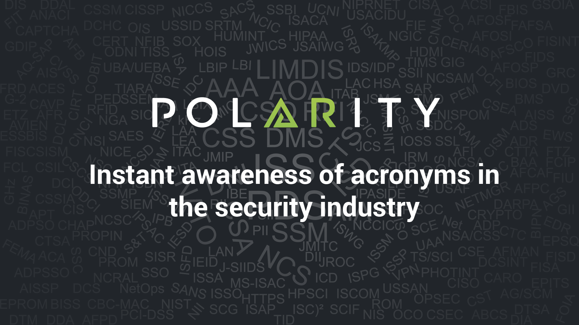 The Definitive Guide to Security Industry Acronyms cover image