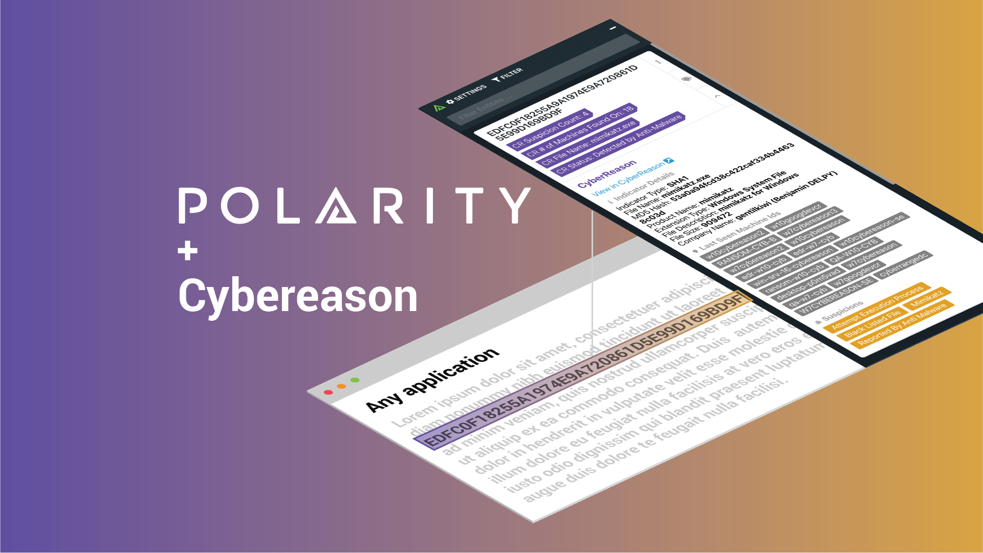 Get Immediate Awareness of Malware with the Polarity-Cybereason Integration cover image