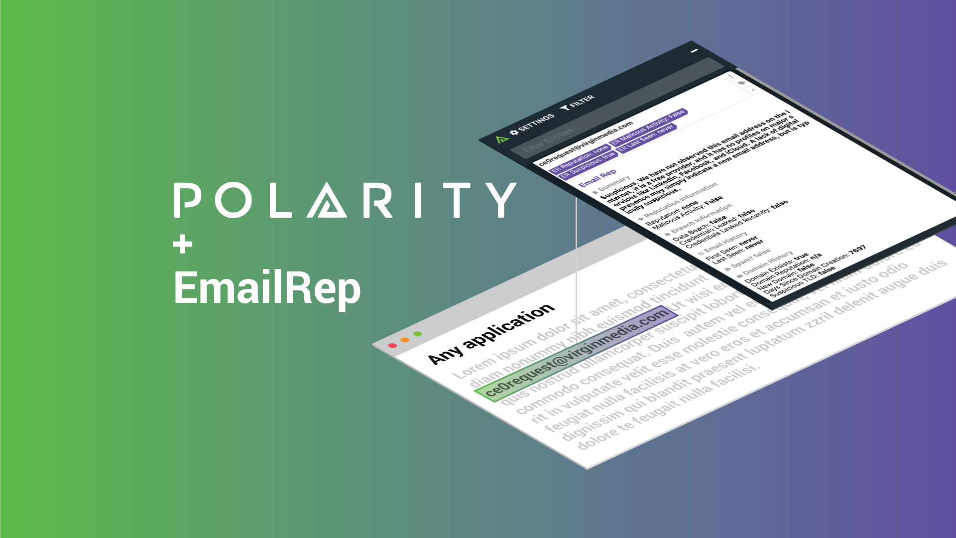 Detect Phishing Attempts Instantaneously with the Polarity-EmailRep Integration cover image