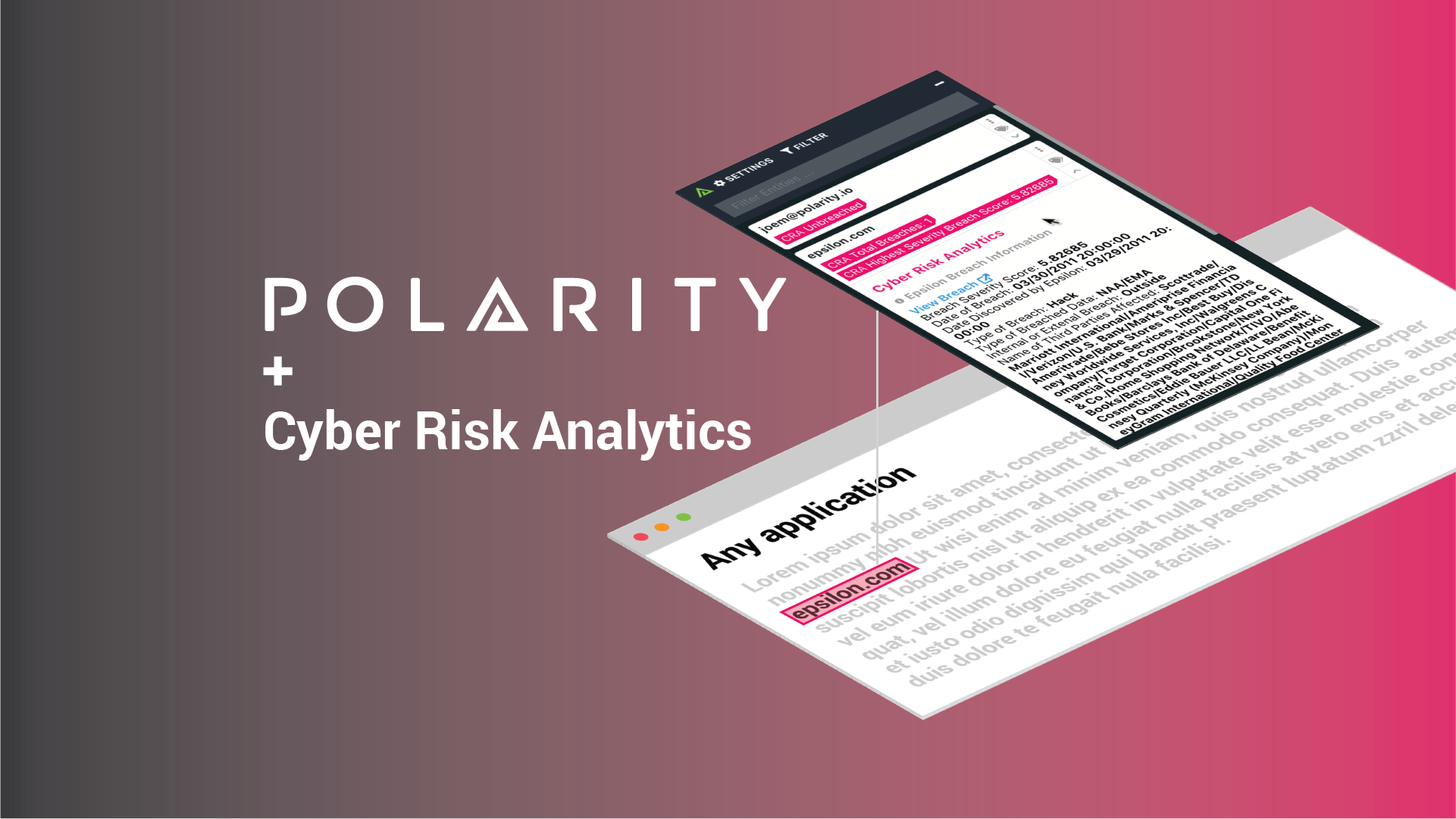 Expose Data Breaches with Actionable Intelligence using the Polarity-Cyber Risk Analytics Integration cover image