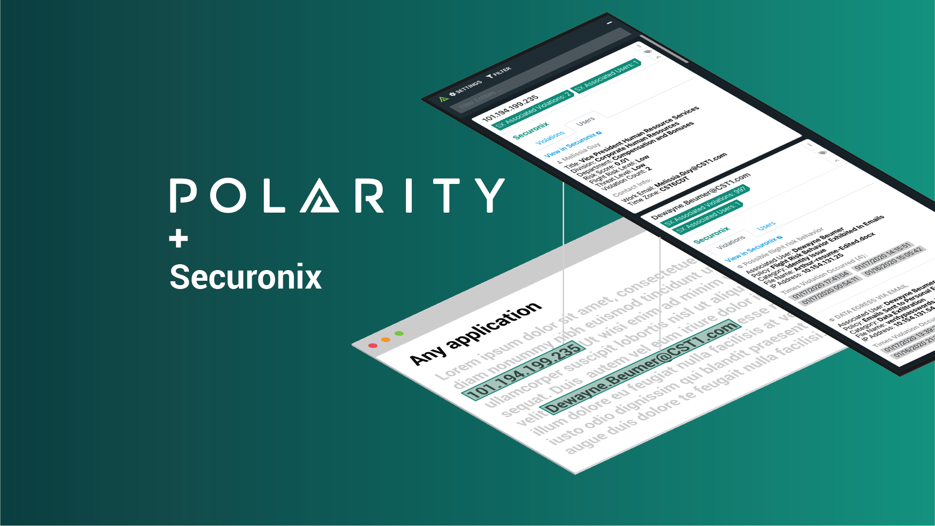 React Immediately to Insider Threats with the Polarity-Securonix Integration cover image