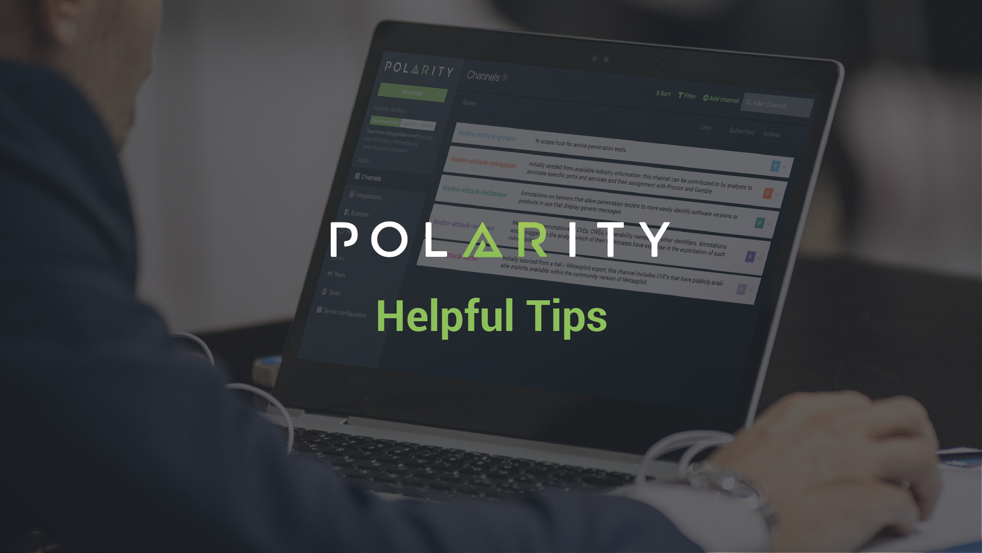 Polarity User Tips: Reference Channels cover image