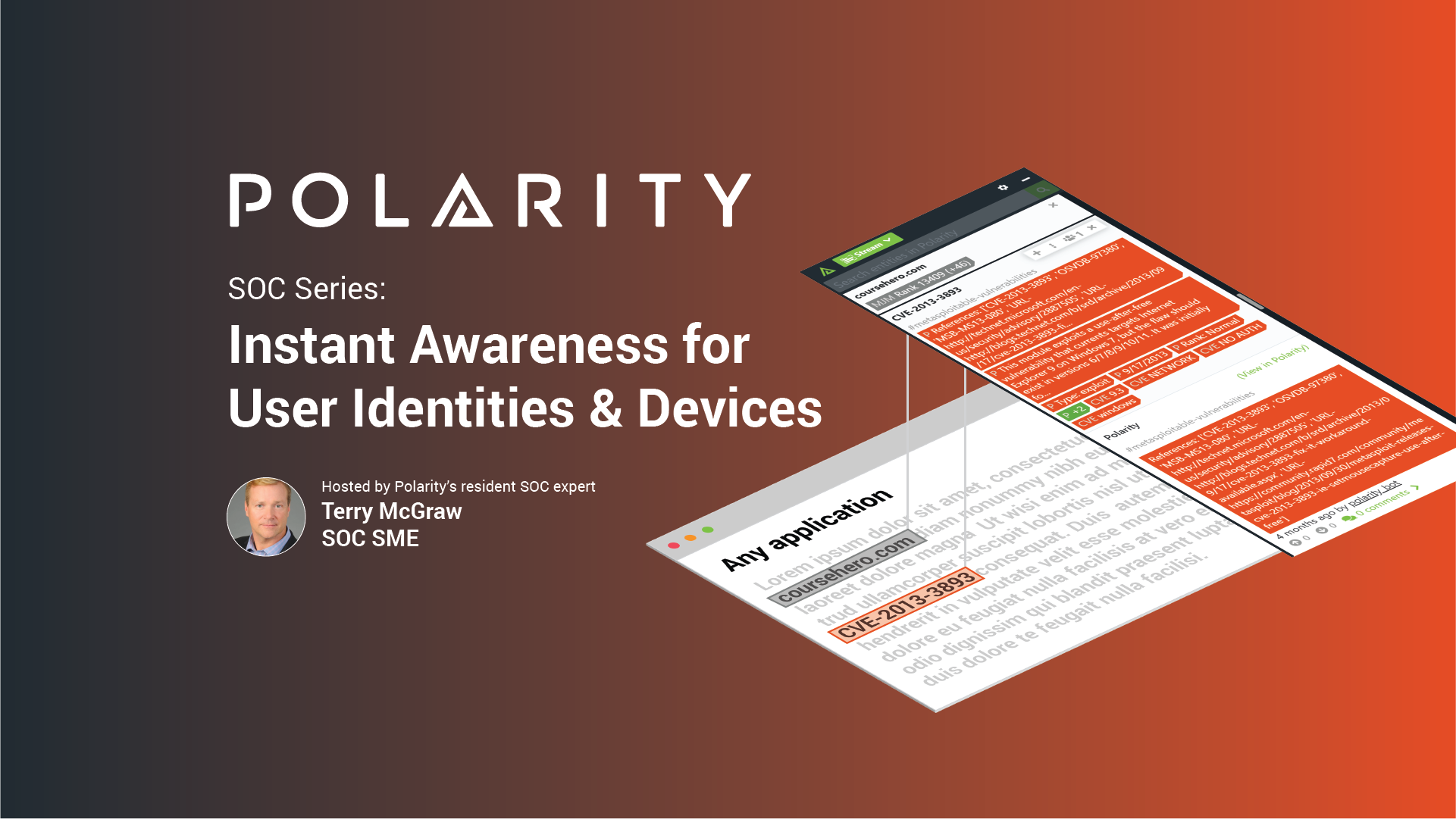 SOC Series: Instant Awareness for User Identities & Devices cover image