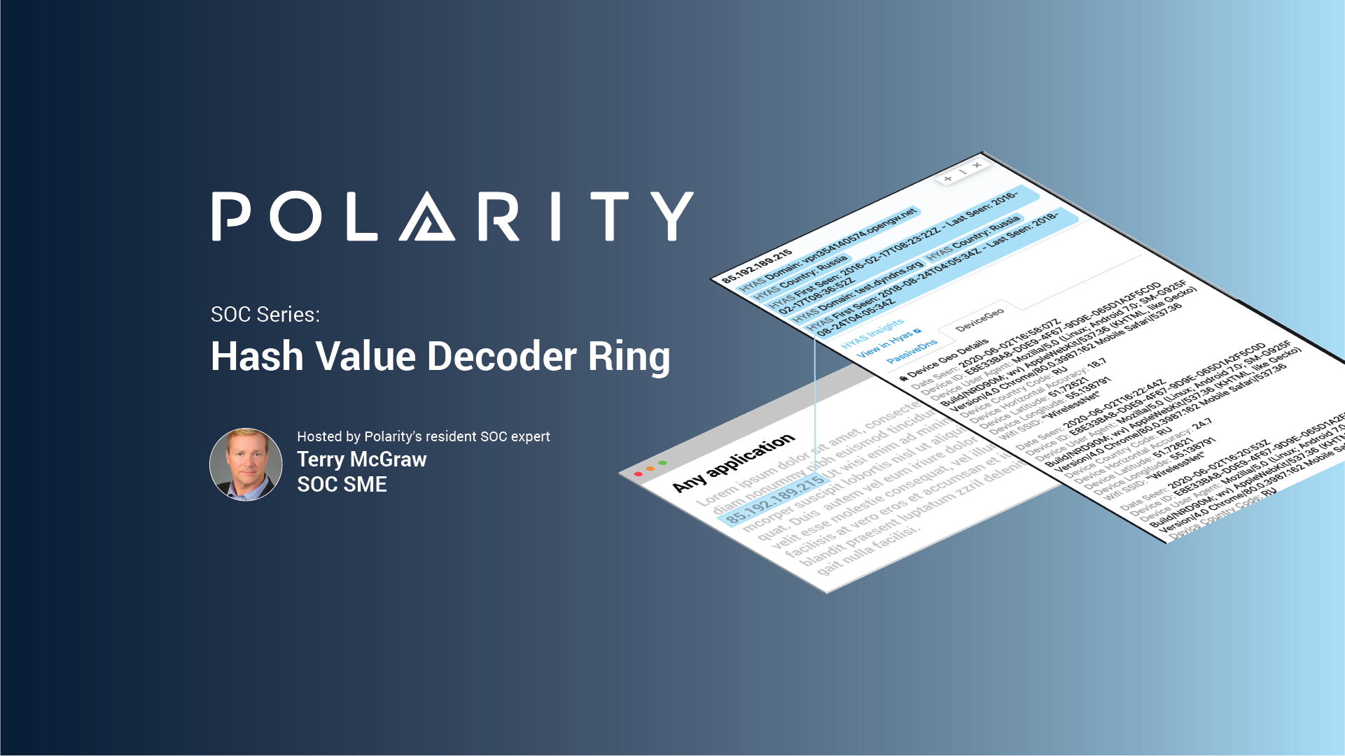 SOC Series: Hash Value Decoder Ring cover image